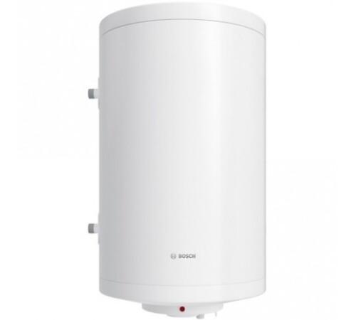 Boiler termoelectric cu serpentina si rezistenta electrica Bosch, Tronic 1000T, 100 l, 2000 W, vertical, stanga, termostat manual