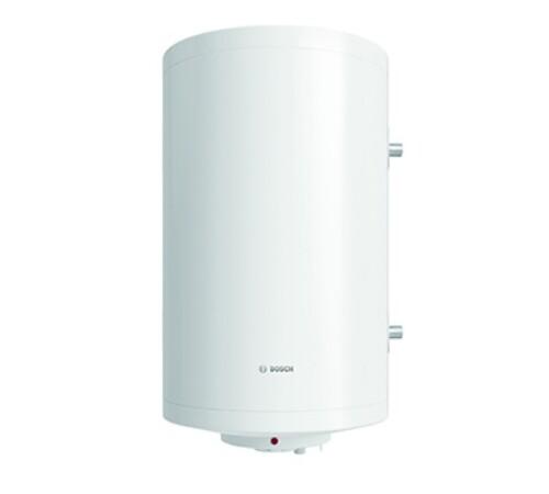 Boiler termoelectric cu serpentina si rezistenta electrica Bosch, Tronic 1000T, 80 l, 2000 W, vertical, dreapta, termostat manual