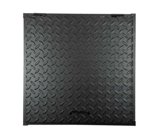 Capac camin 750 x 750 mm, negru